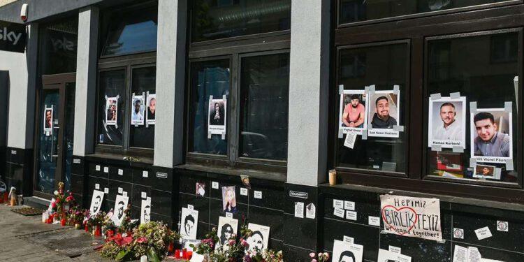 Hanau Shisha-Bar-Notausgang war versperrt - offenbar auf